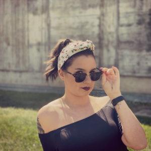 Bandeau pour cheveux cerises - Chloé Guyot