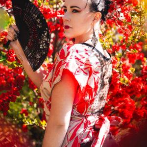 Haut de Kimono - Sur-mesure - Chloé Guyot - Créatrice de mode