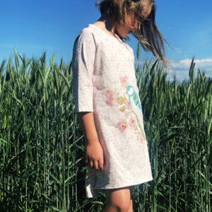 Robe enfant Mésange - Sur-mesure - Chléo Guyot créatrice de mode