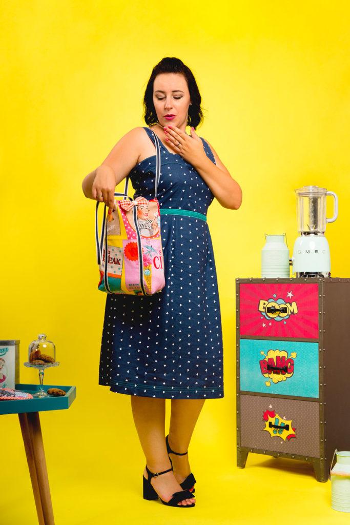 Tote Bag Retro - Chloé Guyot