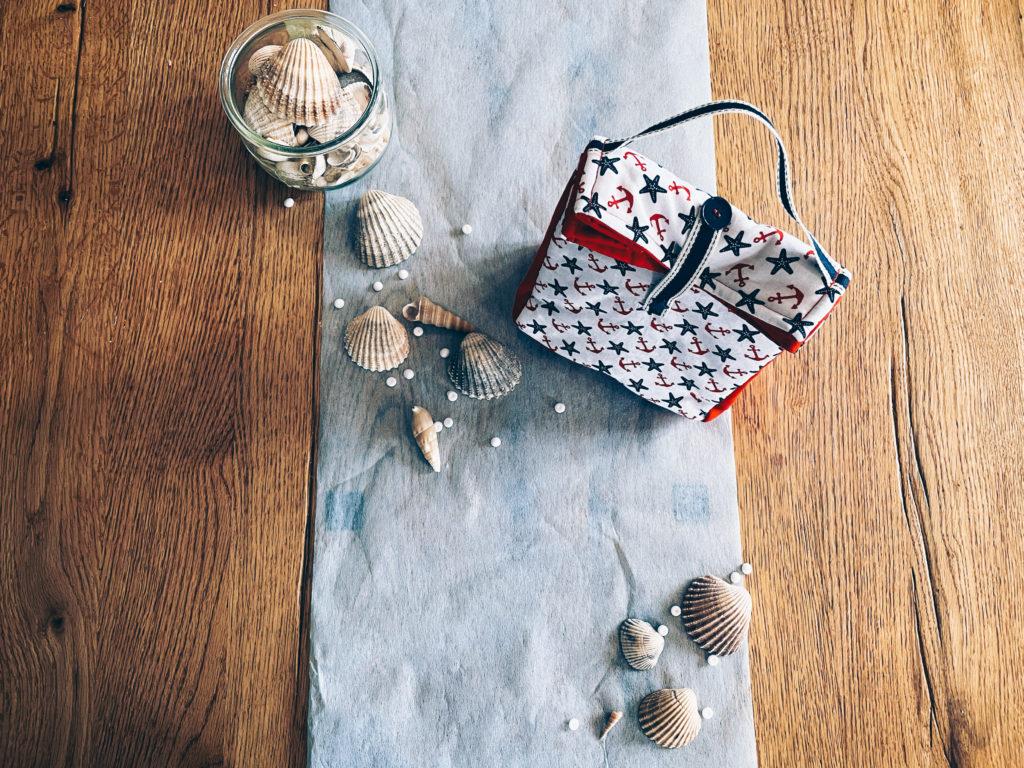 Lunch bag, cadeau de noel, couture