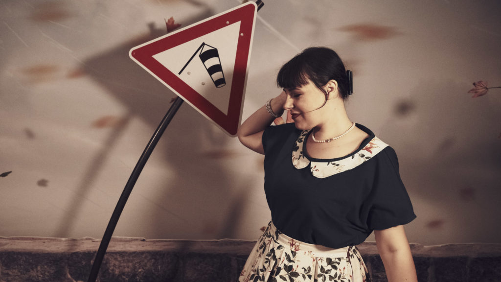 t-shirt, col Claudine, bio, oekotex .couture